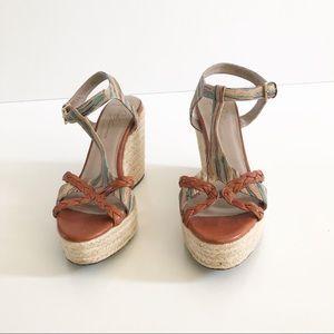 Donald J Pliner Kania Wedge Sandal Size 9